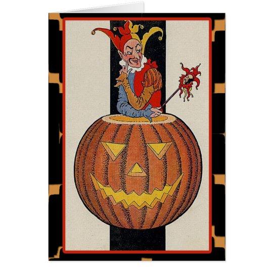 Tarjetas del arte de Halloween del Victorian del
