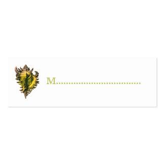 Tarjetas del asiento de la tabla de la recepción tarjetas de visita mini