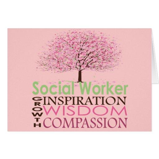 Tarjetas del asistente social