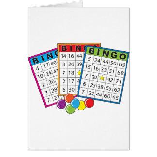 Tarjetas del bingo