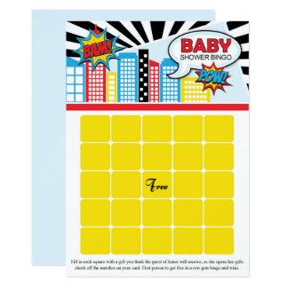Tarjetas del bingo de la fiesta de bienvenida al