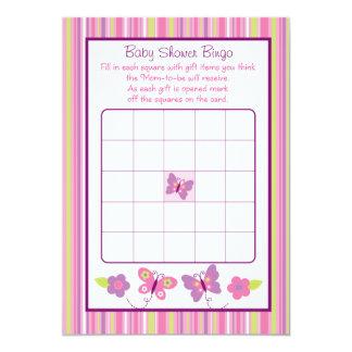 Tarjetas del bingo de la fiesta de bienvenida al invitación 12,7 x 17,8 cm