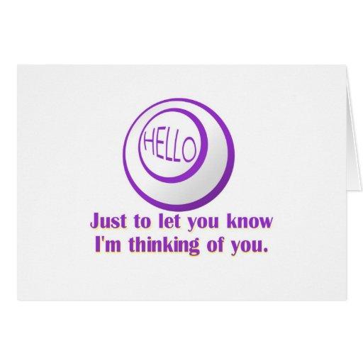 Tarjetas del bingo - hola…