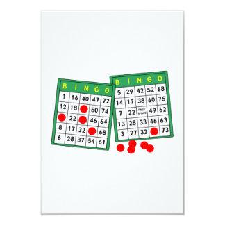 Tarjetas del bingo invitación 8,9 x 12,7 cm