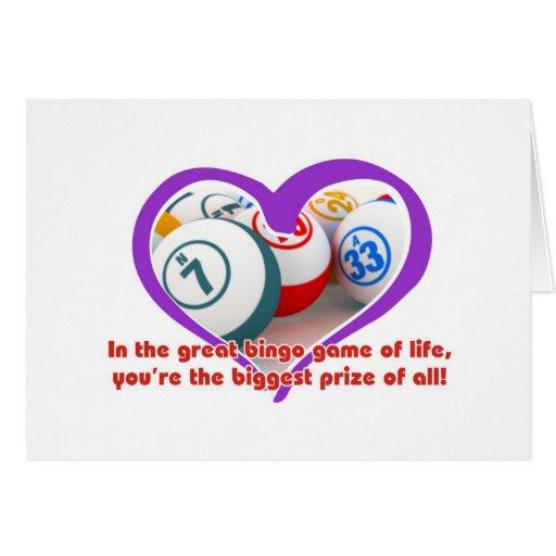Tarjetas del bingo - romance