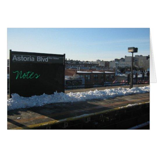 Tarjetas del bulevar de Astoria
