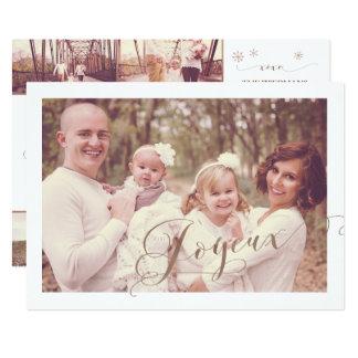 Tarjetas del collage de la foto del navidad de