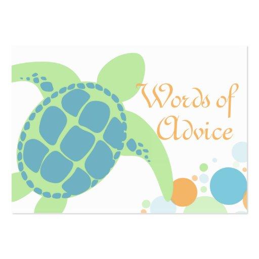Tarjetas del consejo de la fiesta de bienvenida al plantilla de tarjeta personal