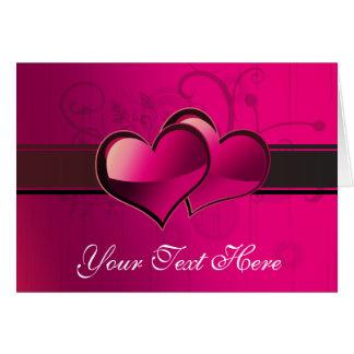 Tarjetas del día de San Valentín, aniversario,