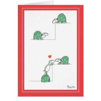 Tarjetas del día de San Valentín de las TORTUGAS