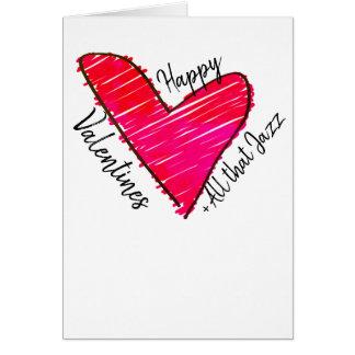 Tarjetas del día de San Valentín felices + Todo