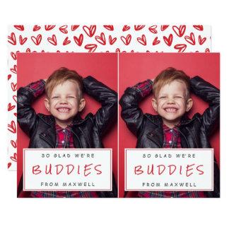 Tarjetas del día de San Valentín/rojo de la sala Invitación 12,7 X 17,8 Cm