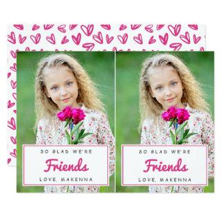 Tarjetas del día de San Valentín/rosa de la sala Invitación 12,7 X 17,8 Cm