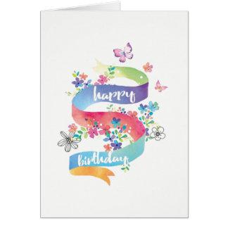 Tarjetas del feliz cumpleaños