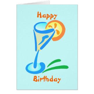 Tarjetas del feliz cumpleaños para los adultos