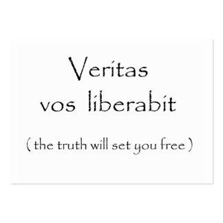 Tarjetas del liberabit-negocio de los vos de Verit Plantilla De Tarjeta De Negocio