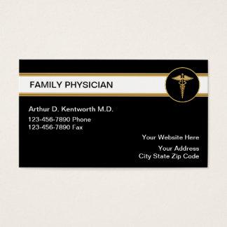 Tarjetas del médico de cabecera visita