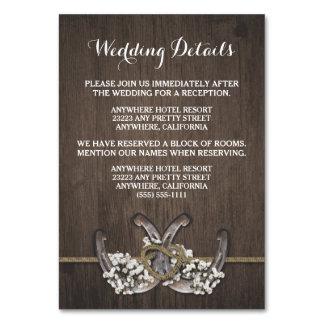 Tarjetas del recinto del boda de la respiración