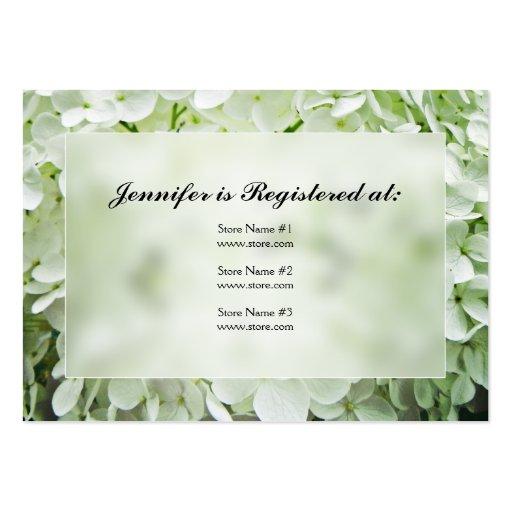 Tarjetas del registro de la fiesta de bienvenida a plantilla de tarjeta de visita