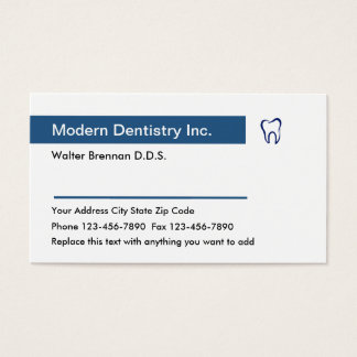Tarjetas dentales de la cita de la oficina