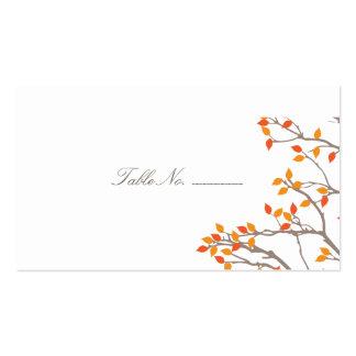 Tarjetas dichosas del acompañamiento de la tabla tarjetas de visita