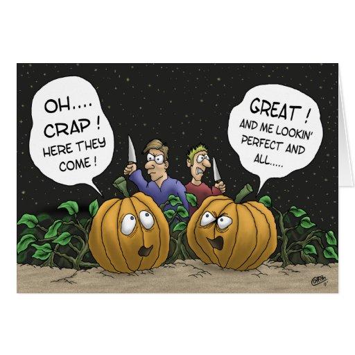 Tarjetas divertidas de Halloween: Perspectiva de l