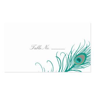 Tarjetas elegantes del acompañamiento de la tabla tarjetas de visita