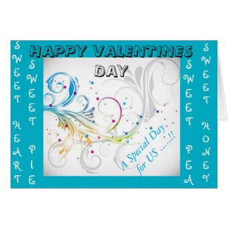 tarjetas estacionales del día de San Valentín
