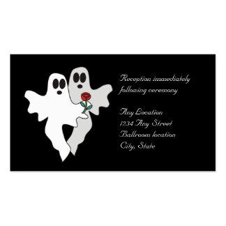 Tarjetas eternas de la recepción del amor tarjetas de visita