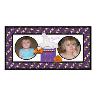Tarjetas fantasmagóricas de la foto del fantasma tarjetas personales con fotos