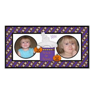 Tarjetas felices de la foto del fantasma del feliz tarjetas fotográficas