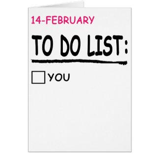 Tarjetas felices del día de San Valentín para