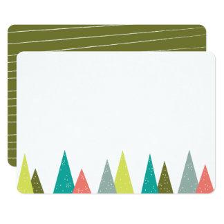 Tarjetas festivas de los efectos de escritorio del invitación 12,7 x 17,8 cm