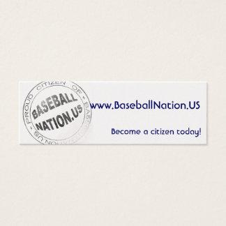 Tarjetas flacas metálicas - BaseballNation
