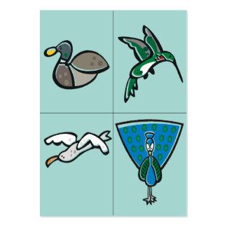Tarjetas flash - sistema 5 tarjetas de visita grandes
