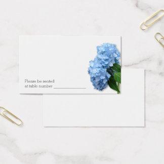 Tarjetas florales azules a granel del número de la