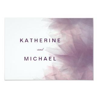 Tarjetas florales minimalistas modernas de la invitación 8,9 x 12,7 cm