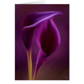 Tarjetas florales reales