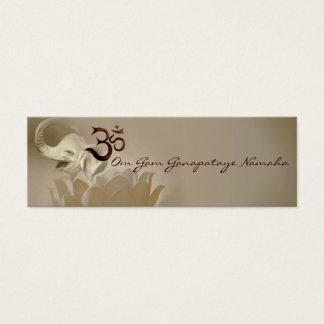 Tarjetas Ganesh- Ganapataye del mantra