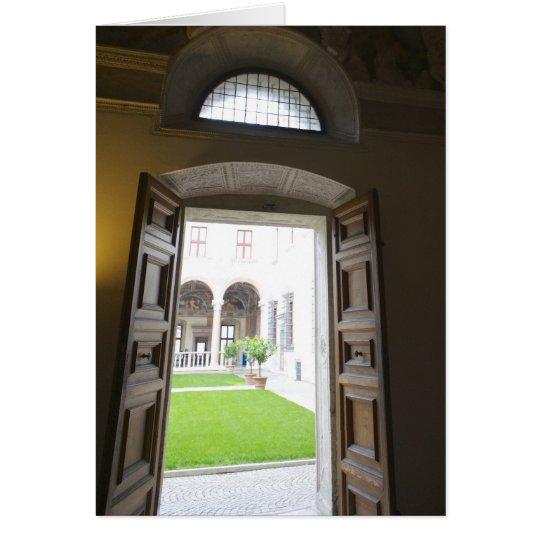 Tarjetas italianas, castillo Trento de