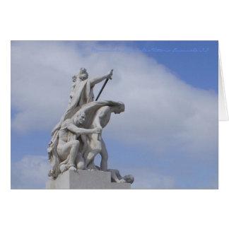 Tarjetas italianas, monumento al vencedor Manuel
