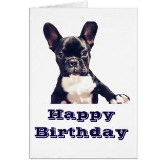 Tarjetas lindas del feliz cumpleaños del perro