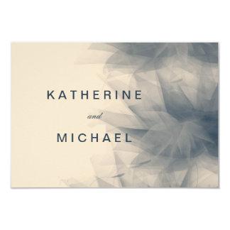 Tarjetas minimalistas modernas de la respuesta de invitación 8,9 x 12,7 cm