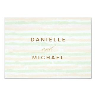 Tarjetas minimalistas modernas de la respuesta del invitación 8,9 x 12,7 cm