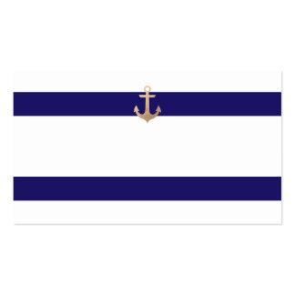 Tarjetas náuticas del acompañamiento de la tabla tarjetas de visita