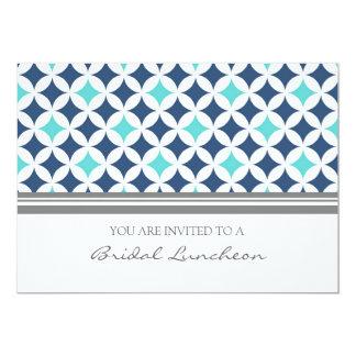 Tarjetas nupciales de la invitación del almuerzo invitación 12,7 x 17,8 cm
