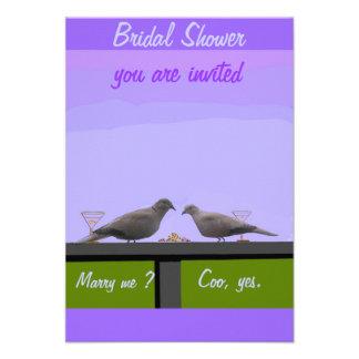 Tarjetas nupciales de RSVP de la ducha Comunicados