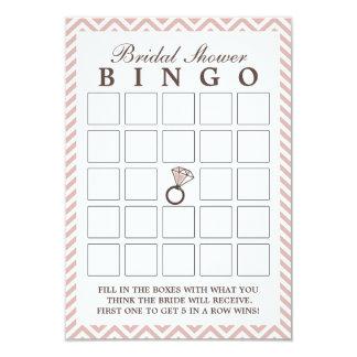 Tarjetas nupciales del bingo de la ducha del anuncio