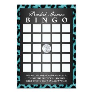 Tarjetas nupciales del bingo de la ducha del anuncios personalizados