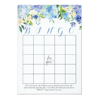 tarjetas nupciales florales del bingo de la ducha invitación 12,7 x 17,8 cm